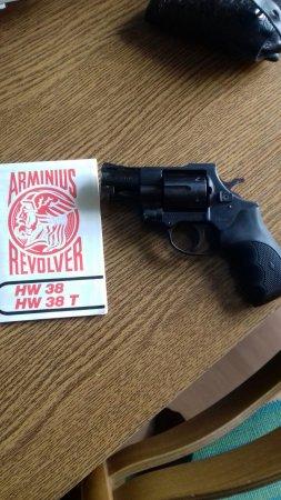 Prodam Revolver Arminius HW 38 SPEC  - bazar zbraní - Inzerce